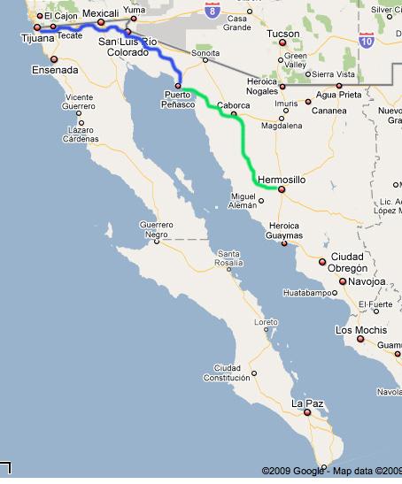 Sonora Baja Road Trip Day Two Puerto Penasco To